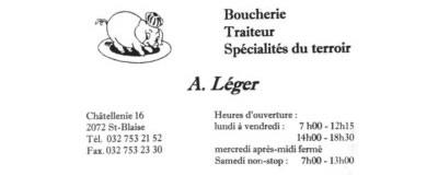Boucherie A. Léger